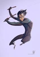 Nightwing  by korock7