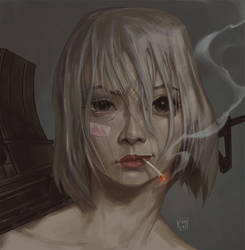 TANK GIRL by korock7