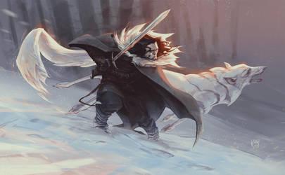 JON SNOW by korock7