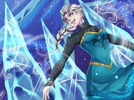 Frozen- Taakse jaa by Mekuvi