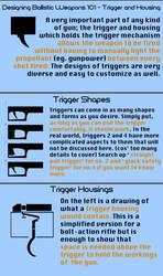 Designing Ballistic Weapons 101 - Trigger by musicranium