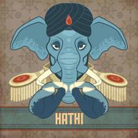 Hathi by MonicaMcClain