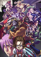 Darkstalkers Tribute by eisu