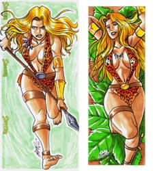 Sheena cards 4 by eisu