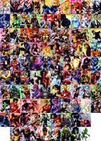 Rittenhouse's Marvel Universe by eisu