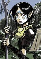 Daily sketch: Merrill by eisu