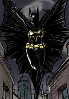 Daily Sketch: Cassandra Cain Batgirl by eisu