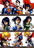 Superman: The Legend - 1 of 6 by eisu