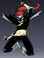 Back to the ol' Batgirl redesign by eisu