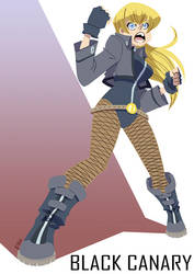 Black Canary by eisu