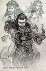 Hobbit sketchbook 6 by Sceith-A