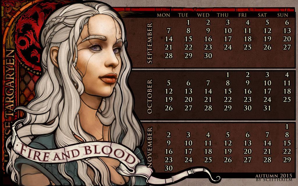 Autumn 2015: House Targaryen by Sceith-A