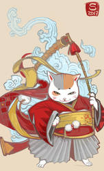 Neko-warrior by Sceith-A