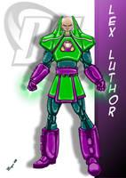 DC Comic's Lex Luthor Armored by skywarp-2
