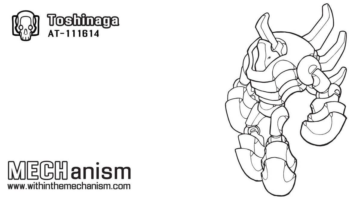 Toshinaga: AT-111614 by WithintheMechanism