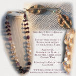 3rd C. Gallo-Roman Necklace Recreation by zephyrofgod