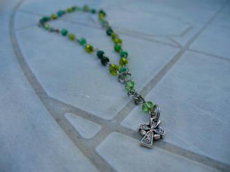 Irish Hills Anglican Rosary by zephyrofgod