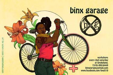 Binx Garage by agentagnes
