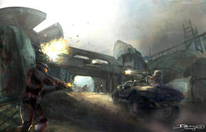 halo3 by dennis-yeung