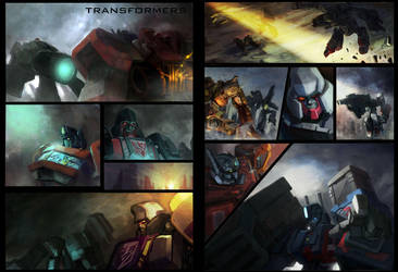 transformer comics by dennis-yeung