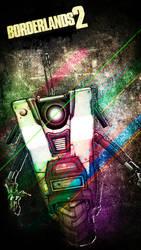 Claptrap - Mobile Wallpaper by VoidF0x