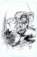 KRAVEN by knockmesilly