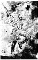 Valiant Comics Bloodshot by knockmesilly