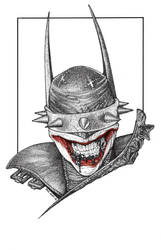 THE BATMAN WHO LAUGHS by knockmesilly