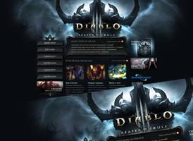 Diablo III Reaper of Souls Wordpress Theme by Forza27