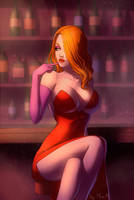 Jessica Rabbit by MiraMaryevna