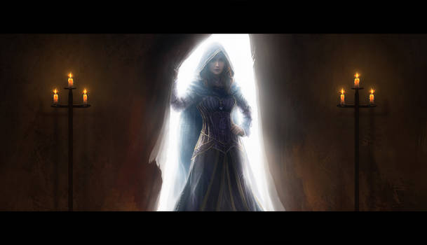 Moiraine Returns by Westling