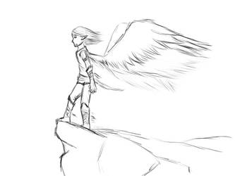 Angel 1 by Miliath