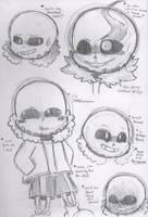 Sans Doodles by ChibChoo