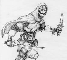 The Great Warforged Assassin by longeye
