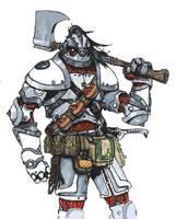 Case Whitehide - Warforged by longeye