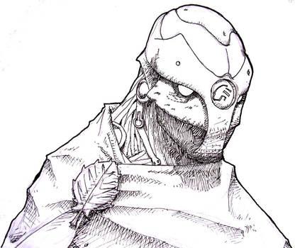 Latch - Warforged Cleric by longeye