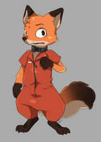 Nick Escaped from Prison by aqvilarostrvm