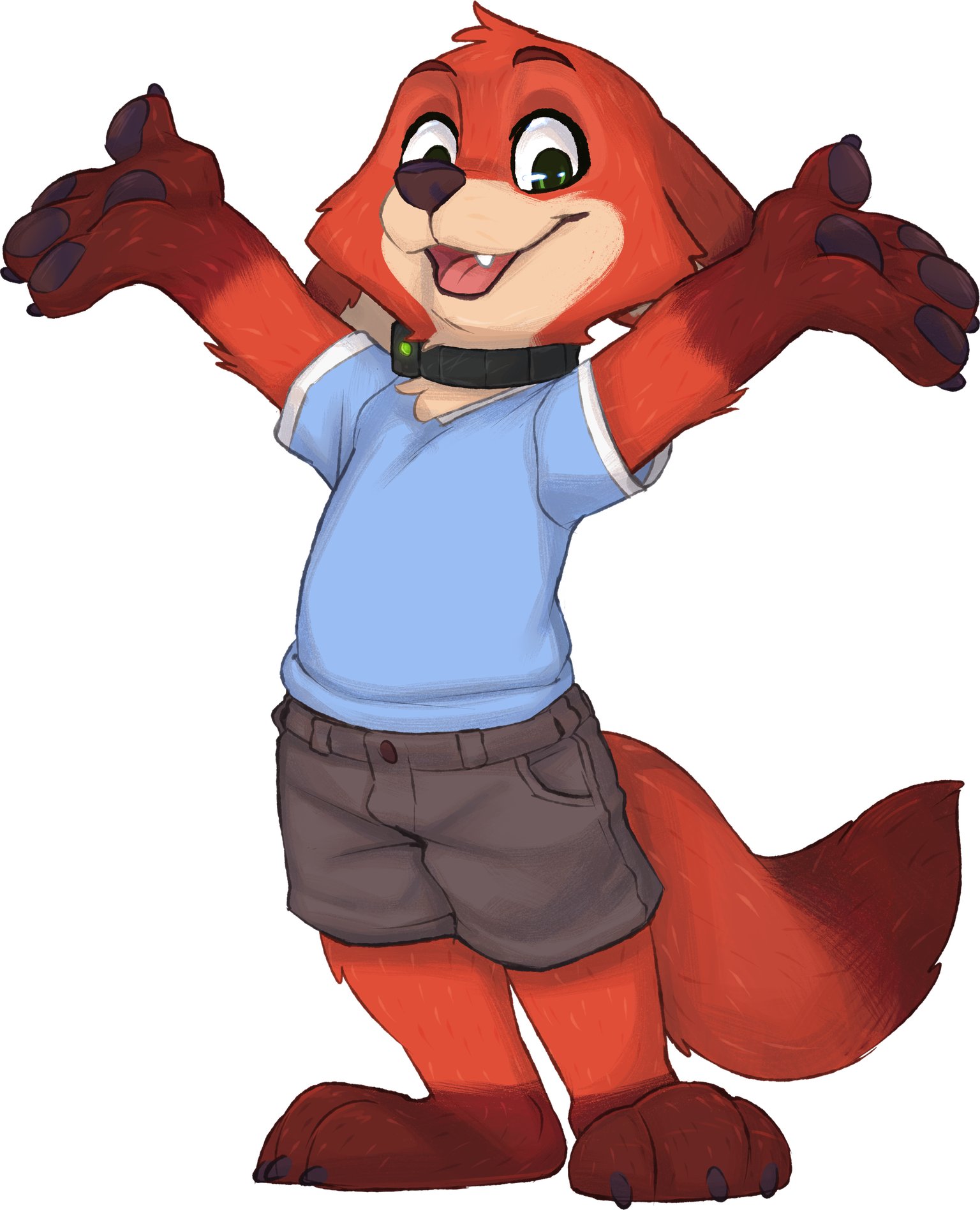 Young Nick Wilde Pitching SUIT-TOPIA by aqvilarostrvm