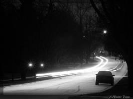 A Winter Drive by littledubbs