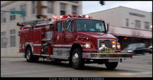 Fire Engine Red by littledubbs