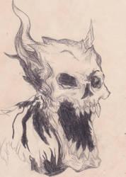 Demon Skull by UKpotato