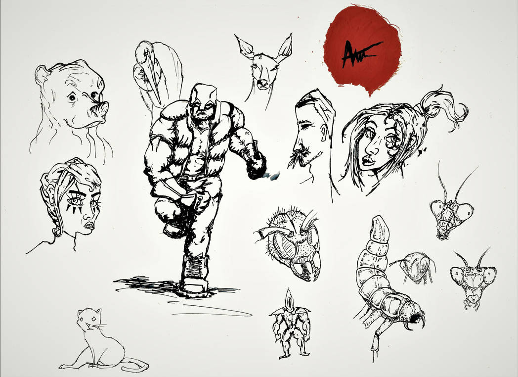 Sketch 1 by UKpotato