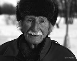 90 y.o. Russian soldier by agapovd