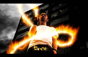 Edge's Flaunt - Fiery Showoff by EdgeFx1