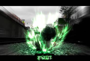 -RU- Faust's Emerald Flame by EdgeFx1