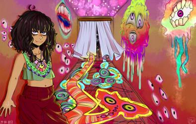 Kali's room by MissKurohane