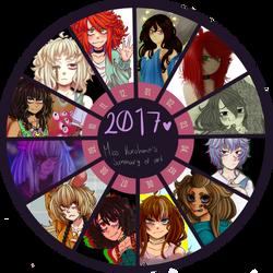 2017 Summary of Art by MissKurohane