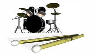 Bulletproof Drum Render by bulletproofgfx