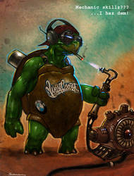 turtle mechanic by Sexforfood