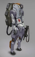 Toilet Droid by Sexforfood
